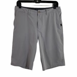quicksilver light gray men short size 30